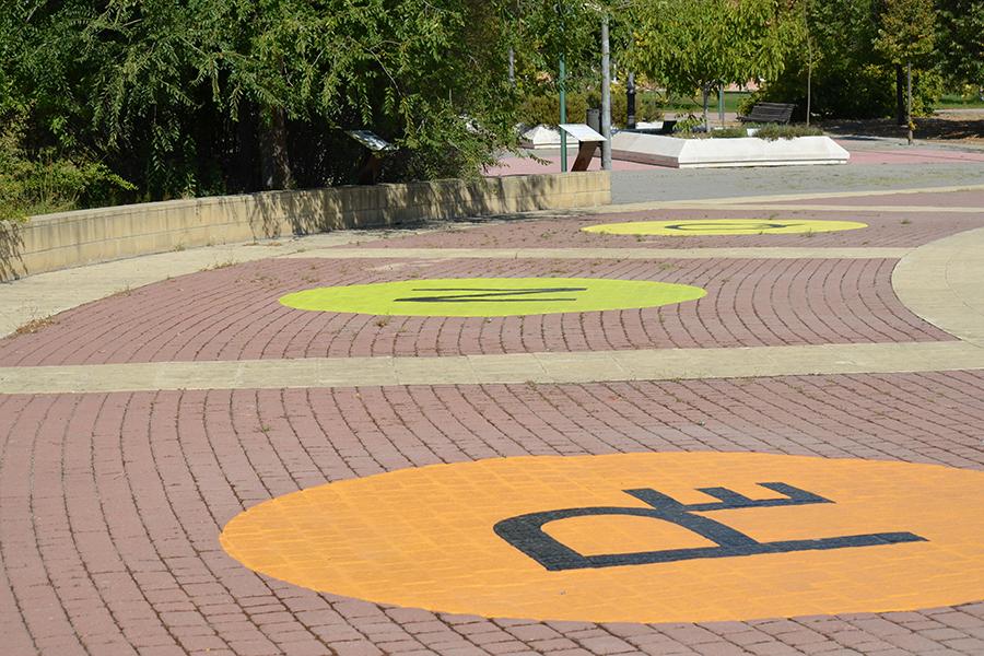 Rotulaci n suelo parque - Parque suelo ...